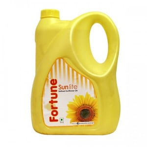 Sunflower Oil In Plastic Can