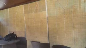 Fine Finish Bamboo Chick Blind