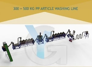HDPE Plastic Recycling Plant