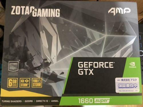 ZOTAC GeForce GTX 1660 Super AMP Graphics Card
