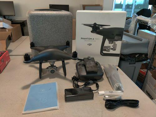 DJI Phantom 4 Pro Obsidian Edition Drone