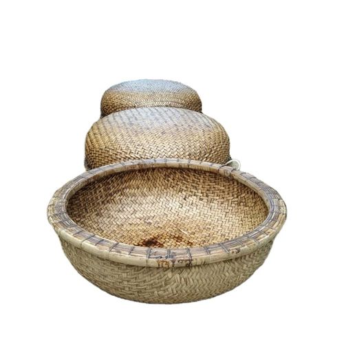Eco Friendly Bamboo Basket Boat