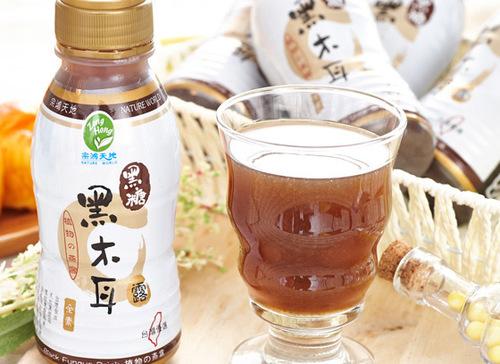 Wood Ear Mushroom Beverage