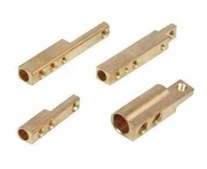 Brass Polished Electrical Pin