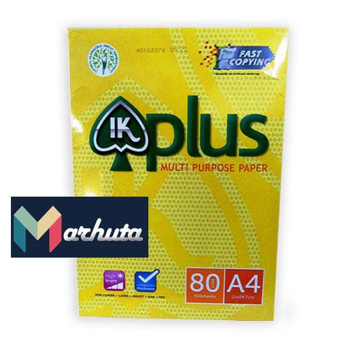 IK Plus A4 Paper 80 GSM