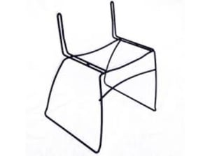 Stainless Steel Corrosion Free Metal Chair Frame
