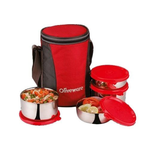 LB100 Stainless Steel Lunch Box