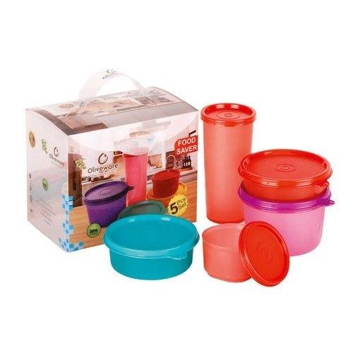 Plastic Lunch Box Set