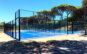 Finely Finished Sports Padel Court