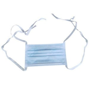 2 Ply Tie On Disposable Surgical Face Mask