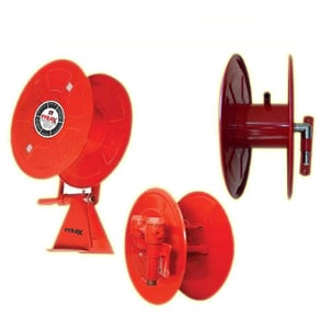First Aid Fire Swinging Hose Reel With Nozzle