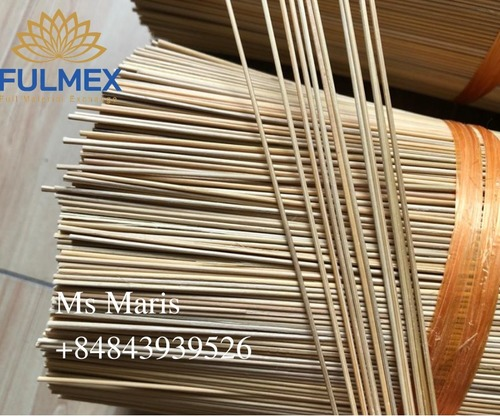Natural Round Bamboo Sticks AAA Grade 1.2MM