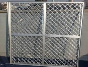 Tensile Strength Aluminum Safety Grill