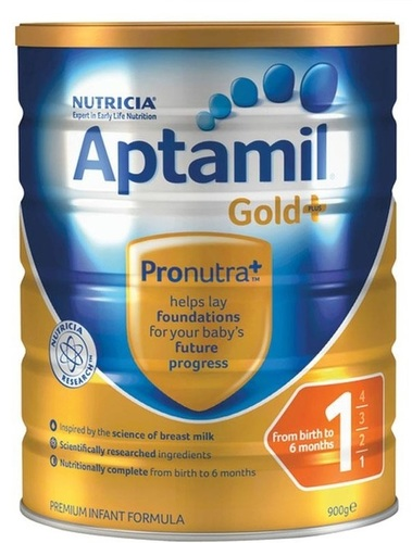 Aptamil-Gold+ 1 Infant Formula 900g Milk Powder