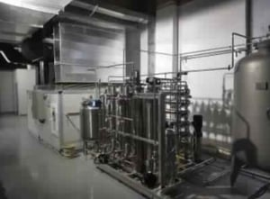 Production Floor Air Conditioning and Purified Water System