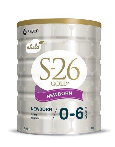 S26-Gold Newborn Step 1 Formula Baby Milk Powder (900g)