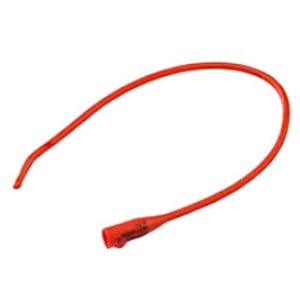 Red Rubber Urinary Catheter