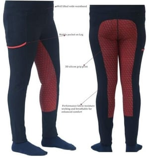 Stretchable Equestrian Tight Pant
