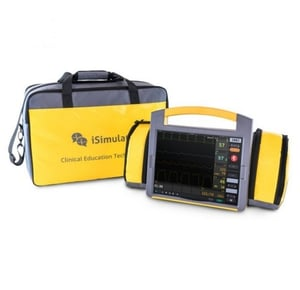 Portable Simulated Patient Monitor