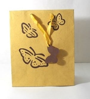 Handmade Cotton Paper Gift Bags