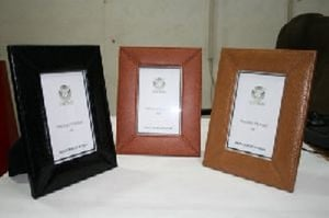 Attractive Leather Photo Frames