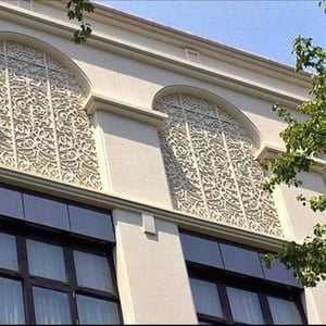 GRC Cornice for Commercial and Residential Buildings