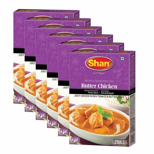 Shan Butter Chicken Recipe And Seasoning Mix 1.76 oz (50g)