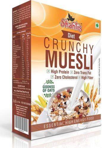 Healthy Diet Crunchy Muesli Breakfast