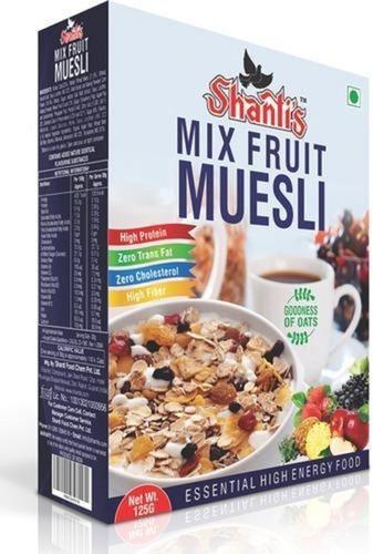 Mix Fruit Muesli Breakfast