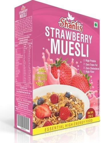 Strawberry Flavor Muesli Breakfast