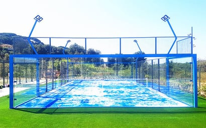 South America Sports Customized Padel Tennis Court