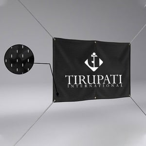 Advertising Polyester Fabric Banner