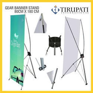 Advertising Use Banner Stand