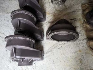Reduction Housing for Ball Bearing and Teppar Bearing