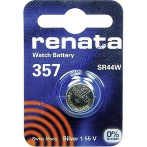 190mAh 1.55V Coin Button Cell Watch Battery