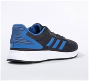 Mesh Panelled Lace-Up Sports Shoe