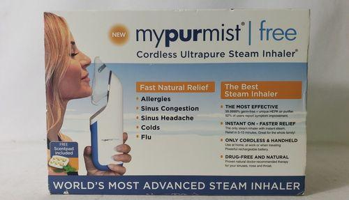 Mypurmist Free Cordless Ultrapure Handheld Steam Inhaler
