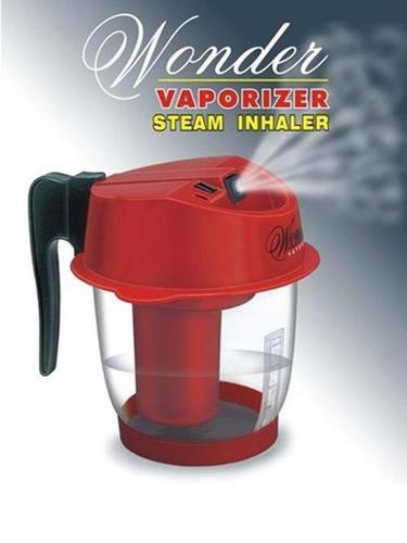 Wonder Steam Inhaler (Professional) Vaporizer (Red)