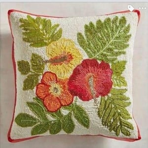 Embroidered Design Cushion Covers