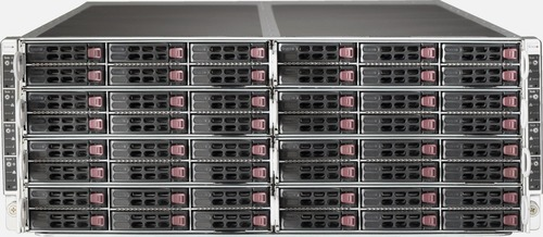 New Supermicro Superserver Sys-F617r2-Rt+ Fattwin 8 Nodes 4u Chassis Cto Server