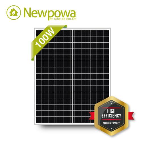 100 Watt Module Monocrystalline Solar Panel