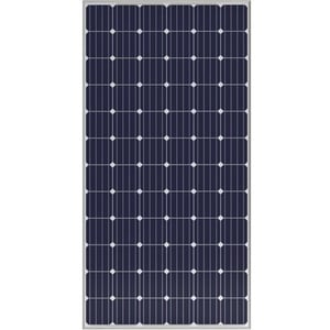 Solar Panels With Silver Anodized High Tech Aluminium Frame