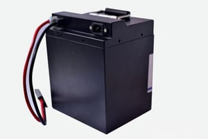 20Ah Rechargeable E Bike Two Wheeler Lithium Ion Battery