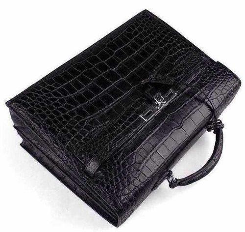 Black Color Leather Handbag