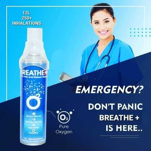 Emergency Portable Oxygen Can