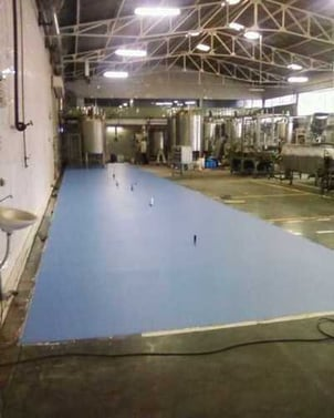 Food Grade Epoxy Poly Urethane Flooring Services For Industrial
