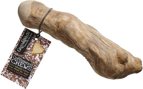Natural Material Coffee Tree Wood Dog Chew Stick