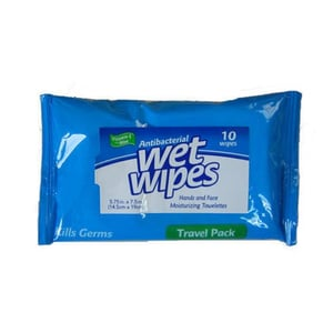 Personal Hygiene Anti Bacterial Disposable Wet Wipes Tissue