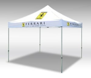 Printed Promotional Folding Outdoor Polyester Canopy Tents
