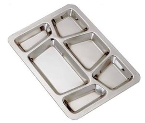 Fine Finish Stainless Steel Tray